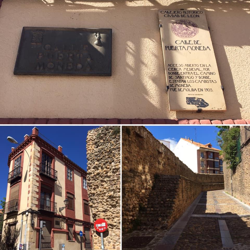 Puerta Moneda es una de las antiguas puertas de acceso a la ciudad al construirse la medieval Cerca Nueva, en tiempos de Alfonso XI, como defensa de los nuevos barrios que, extramuros de la vieja urbe, fueron creciendo a su alrededor: San Marcelo, San Mart