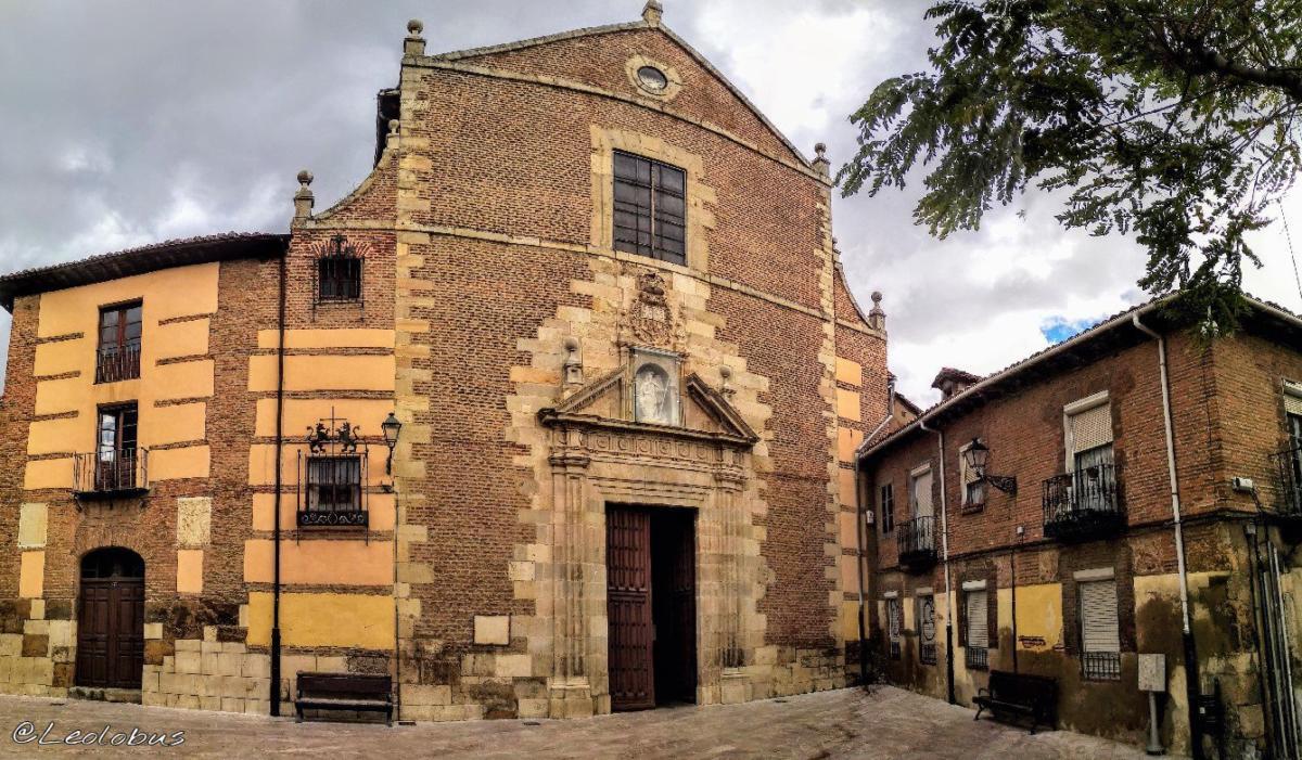 Iglesia construida en la segunda mitad del siglo XVI por mandato del obispo Don Juan de San Millán. En su interior podemos ver grandes obras de arte, como son el conjunto escultórico de la Virgen del Rosario, obra de Juan de Juni.
