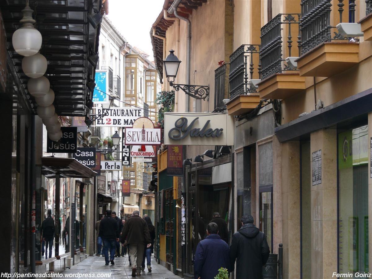 Es una calle, larga, estrecha y llena de establecimientos de lo más variado, en la que podemos encontrar comercios modernos y otros, los más clásicos, los que llamamos de toda la vida.