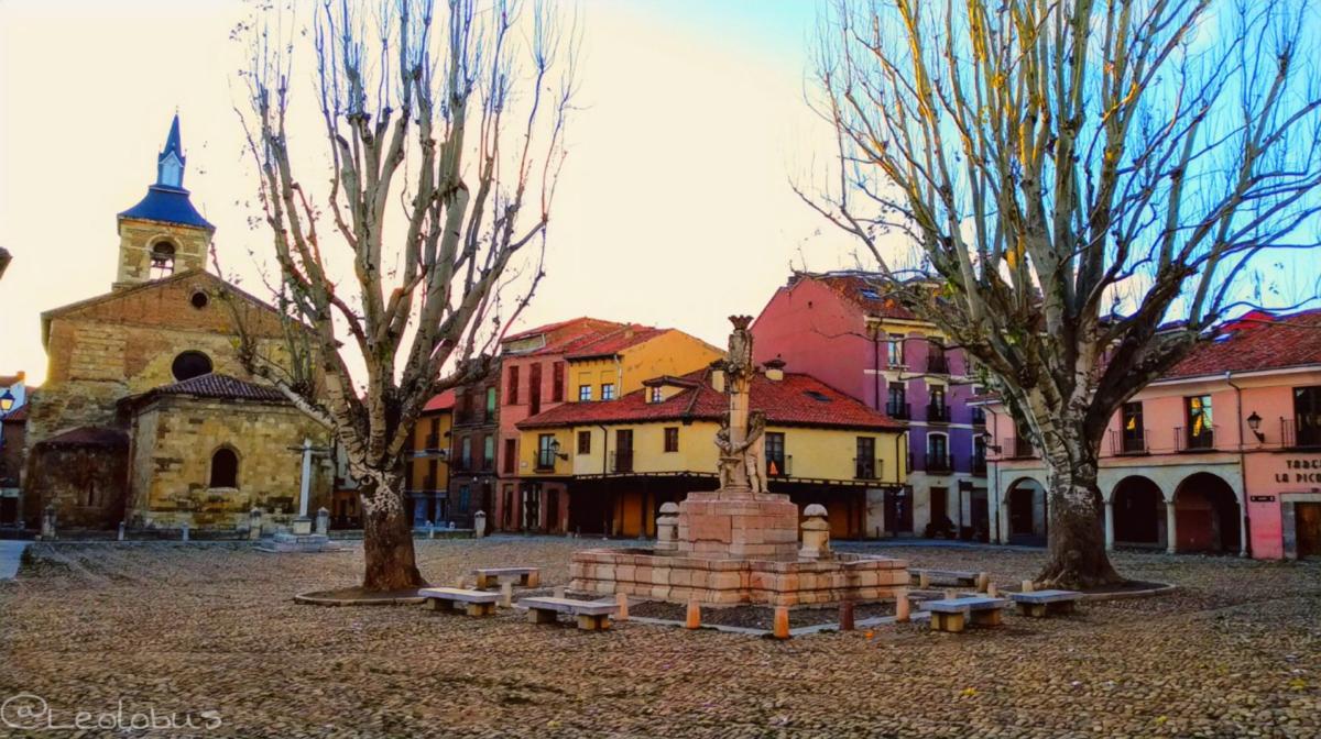 La Plaza del Grano o Plaza de Santa María del Camino como se llama oficialmente al estar en la parte posterior de la iglesia homónima, se encuentra en la parte sur del Casco Histórico. Es una amplia plaza de origen medieval con suelo empedrado.